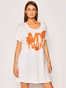 My Twin My Twin T-Shirt 201MT2301 Biały Loose Fit
