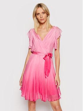 Guess Guess Koktejlové šaty W1GK0D WDXX0 Růžová Slim Fit