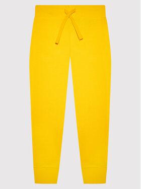 United Colors Of Benetton United Colors Of Benetton Sportinės kelnės 3J68I0028 Geltona Regular Fit