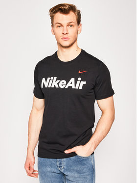 NIKE NIKE T-Shirt Air CK2232 Schwarz Standard Fit