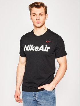 NIKE NIKE T-Shirt Air CK2232 Schwarz Standard Fit