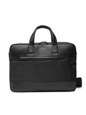 Calvin Klein Calvin Klein Porta PC Laptop Bag W/Pckt K50K506974 Nero