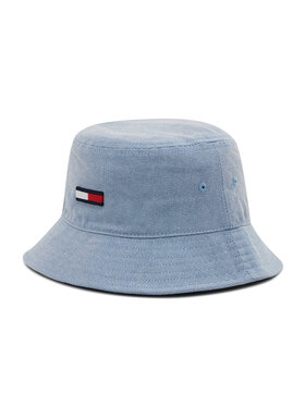 Tommy Jeans Tommy Jeans Bucket Hat Flag Washed Denim AW0AW10193 Blau