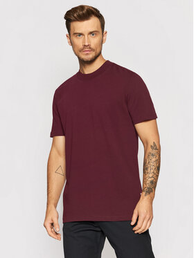 Selected Homme Selected Homme T-Shirt Colman 200 16077385 Fialová Relaxed Fit