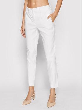 Marella Marella Текстилни панталони Thomas 31310912 Бял Regular Fit