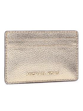 MICHAEL Michael Kors MICHAEL Michael Kors Custodie per carte di credito Jet Set 34H9GJ6D5L Oro