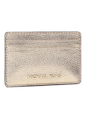 MICHAEL Michael Kors MICHAEL Michael Kors Kreditinių kortelių dėklas Jet Set 34H9GJ6D5L Auksinė