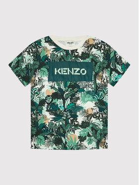 Kenzo Kids Kenzo Kids T-Shirt K25189 Zielony Regular Fit