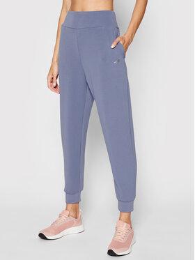 4F 4F Spodnie dresowe H4L21-SPDD011 Niebieski Regular Fit