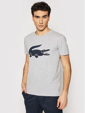 Lacoste Lacoste T-shirt TH0139 Gris Slim Fit