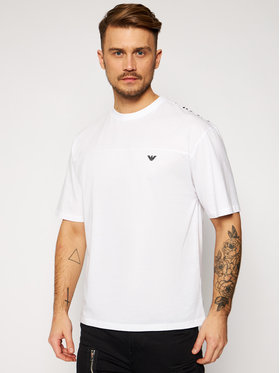 Emporio Armani Emporio Armani T-Shirt 211839 1P476 00010 Biały Relaxed Fit