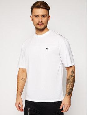 Emporio Armani Emporio Armani T-Shirt 211839 1P476 00010 Bílá Relaxed Fit