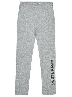 Calvin Klein Jeans Calvin Klein Jeans Legginsy Institutional IG0IG00559 Szary Slim Fit