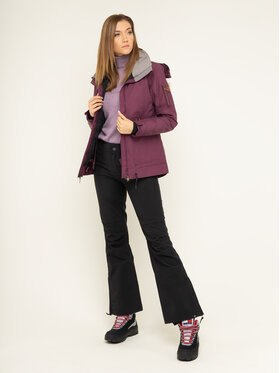 Roxy Roxy Snowboard jakna Meade ERJTJ03229 Tamnocrvena Tailored Short Fit