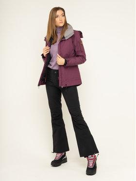 Roxy Snowboardová bunda Meade ERJTJ03229 Bordová Tailored Short Fit