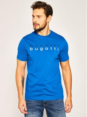Bugatti Tričko 8350 55062 Modrá Regular Fit