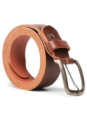 Jack&Jones Jack&Jones Cintura da uomo Jackpaul Leather Belt 12111286 Marrone