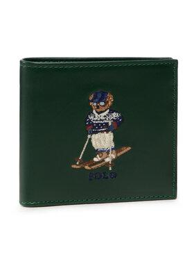 Polo Ralph Lauren Polo Ralph Lauren Velká pánská peněženka Swtr Br Bf/C 405851431001 Zelená