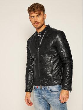 Guess Guess Veste en cuir Biker M0YL57 WD340 Noir Regular Fit