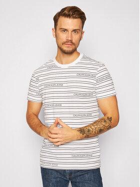 Calvin Klein Jeans Calvin Klein Jeans T-Shirt Logo J30J316333 Weiß Regular Fit