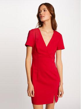Morgan Morgan Každodenní šaty 212-RLIVIE Červená Slim Fit