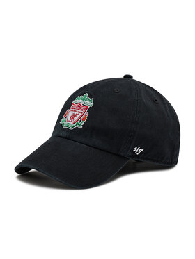 47 Brand 47 Brand Шапка с козирка Premier League Liverpool F.C. EPL-RGW04GWS-BK Черен