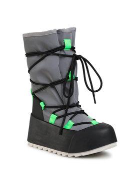 United Nude United Nude Μπότες Χιονιού Polar Calf Boot 1059414112562 Γκρι