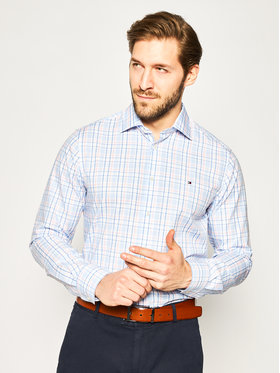 Tommy Hilfiger Tailored Tommy Hilfiger Tailored Cămașă Check Classic TT0TT06824 Colorat Regular Fit