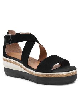 Tamaris Tamaris Sandále 1-28005-26 Čierna