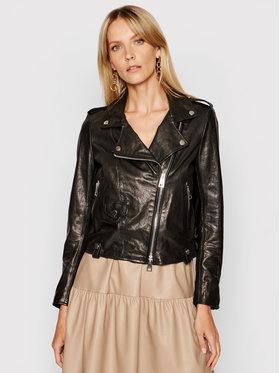 Imperial Imperial Prijelazna jakna V3025400 Crna Slim Fit