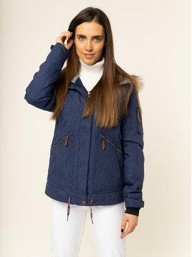 Roxy Snowboardová bunda Meade ERJTJ03243 Tmavomodrá Tailored Fit