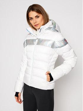 Rossignol Rossignol Skijaška jakna Hiver Holo Down RLIWJ92 Bijela Slim Fit