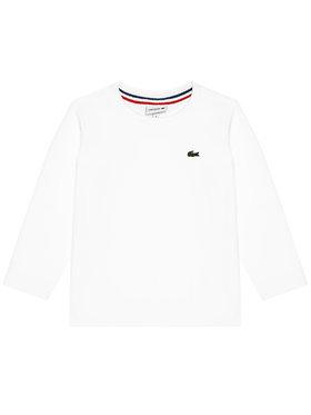 Lacoste Lacoste Blúz Unisex TJ2093 Fehér Regular Fit