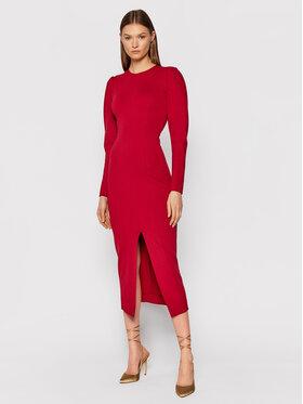 TWINSET TWINSET Džemper haljina 212TP2064 Crvena Slim Fit