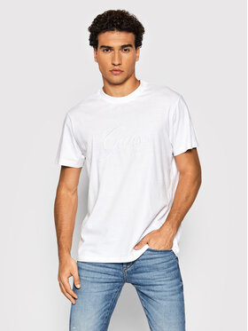 Guess Guess T-Shirt M1BI26 K8FQ1 Bílá Regular Fit