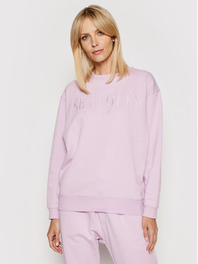 Seafolly Seafolly Sweatshirt Leisure Crew 54569-TO Violet Relaxed Fit