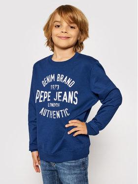 Pepe Jeans Pepe Jeans Pulóver Paul PB581338 Sötétkék Regular Fit