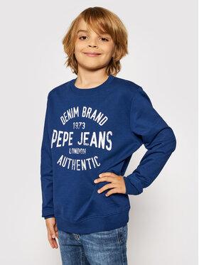 Pepe Jeans Pepe Jeans Суитшърт Paul PB581338 Тъмносин Regular Fit