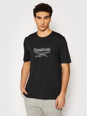 Reebok Reebok T-Shirt Classics Vector GU3886 Czarny Oversize