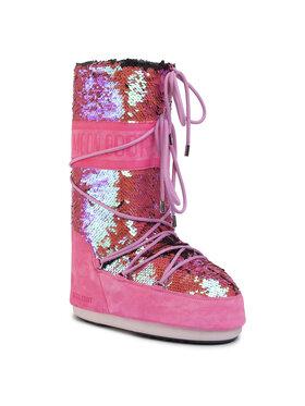 Moon Boot Moon Boot Śniegowce Classic Disco 14025200 Różowy