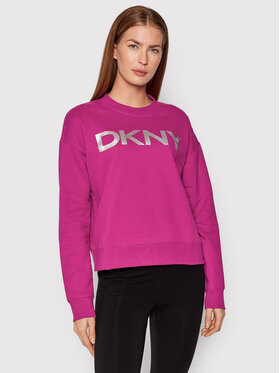 DKNY Sport DKNY Sport Μπλούζα DP1T7974 Ροζ Relaxed Fit