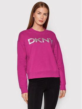 DKNY Sport DKNY Sport Суитшърт DP1T7974 Розов Relaxed Fit