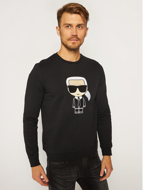 KARL LAGERFELD KARL LAGERFELD Sweatshirt Sweat 705040 502950 Noir Regular Fit