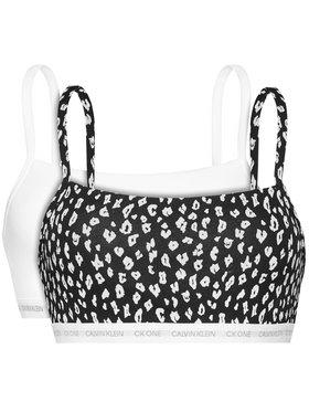 Calvin Klein Underwear Calvin Klein Underwear Σετ 2 σουτιέν τοπ 000QF6040E Λευκό
