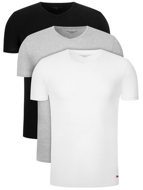 Tommy Hilfiger Tommy Hilfiger Súprava 3 tričiek Vn Tee 3 Pack Premium Essentialis 2S87903767 Farebná Regular Fit