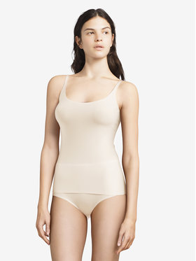 Chantelle Chantelle Felső Soft Stretch C10620 Bézs Slim Fit