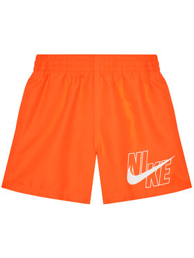 NIKE NIKE Plavecké šortky Logo Solid NESSA771 Oranžová Standard Fit