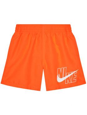 NIKE NIKE Short de bain Logo Solid NESSA771 Orange Standard Fit