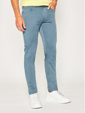 Emporio Armani Emporio Armani Spodnie materiałowe 3H1J06 1NEDZ 0758 Szary Slim Fit
