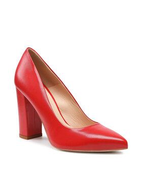 Solo Femme Solo Femme Chaussures basses 14101-8D-I85/000-04-00 Rouge